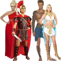Toga, Greek & Roman Costumes
