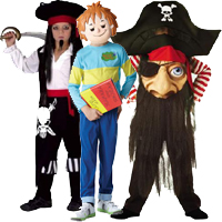 Boys Book Day Costumes