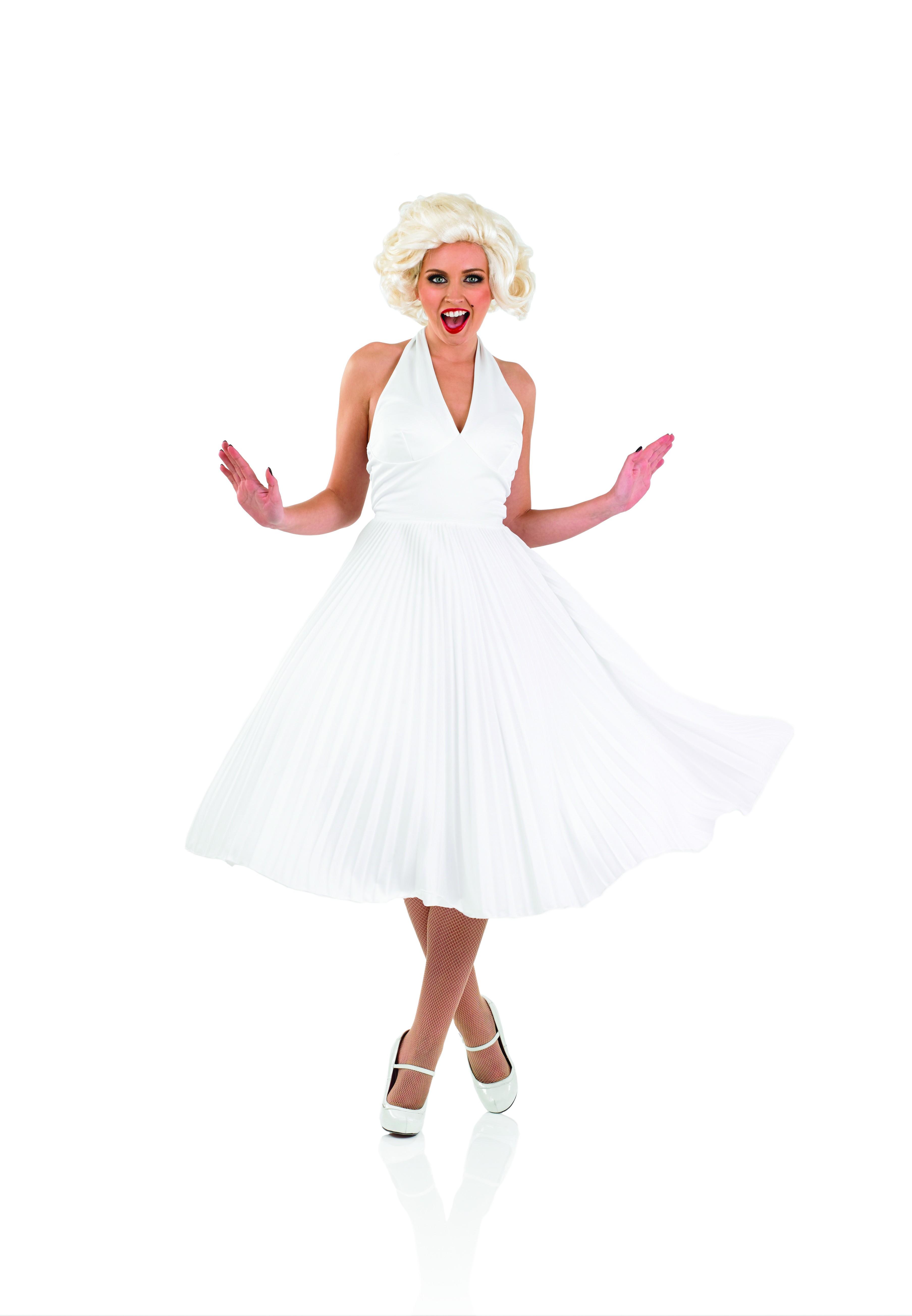 Ladies 50s Marilyn Fancy Dress Costume ~ AbFab.co.uk ...