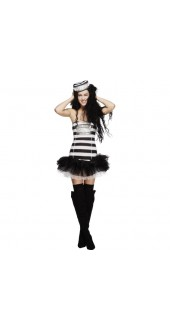 Fever Convict Cutie Costume