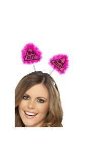 Pink Hen Party Warning Boppers