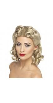 1940s Sweetheart Wig Blonde
