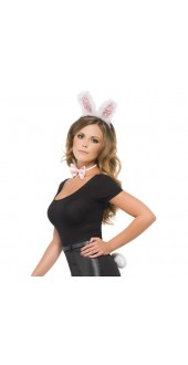 Bunny Set Pink And White