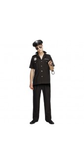 Fever Male Cop Costume