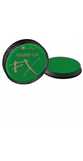 Smiffy's Make-Up Fx, Aqua Face and Body Paint, Bright Green