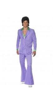 Lavender 1970s Suit Costume
