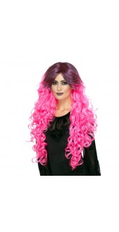 Pink Gothic Glamour Wig