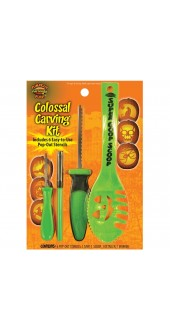 Pumpkin Carving Kit - 10 Pc