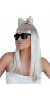 Pop Diva Wig and Glasses