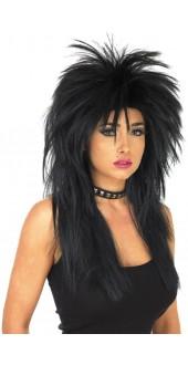 Black Glam Rock Wig
