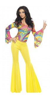 Fever 70s Groovy Babe Costume