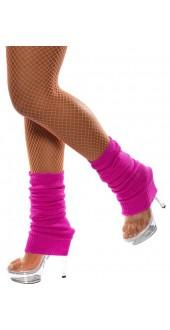 Ladies Hot Pink Legwarmers