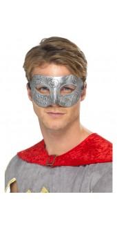 Metallic Warrior Colombina Eye Mask