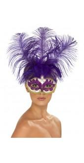 Purple Can Can Eye Mask