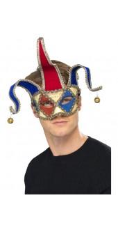 Venetian Musical Jester Eye Mask