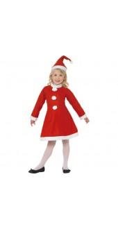 Girls Value Santa Girl Costume