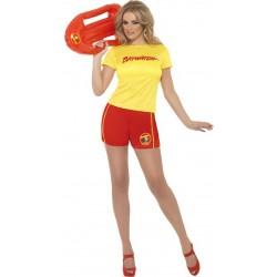 Ladies Baywatch Beach Costume