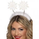 Snowflake Boppers With Marabou