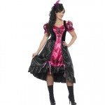 Plus Size Curves Sassy Saloon Costume