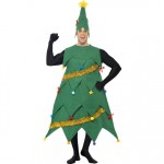 Smiffy's Men's Deluxe Christmas Tree Costume - One Size