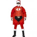 Smiffys Super Fit Santa Costume