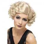 20'S Flirty Flapper Wig, Blonde