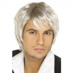 Boyband Wig Light Blonde And Brown