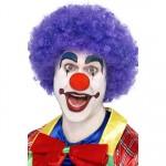 Crazy Clown Wig, Purple