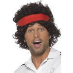 Eighties Tennis Player Wig