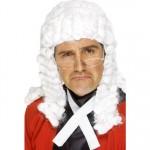 Smiffys White Judges Wig