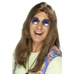Brown Neil Hippy Wig