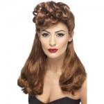 40s Vintage Wig Auburn
