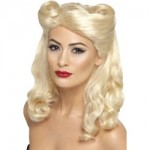 40s Pin Up Wig Blonde