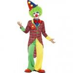 Child's Colourful Clown Costume