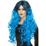 Blue Gothic Glamour Wig
