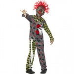 Deluxe Child's Twisted Clown Costume