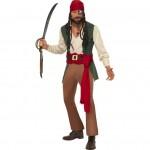 Caribbean Drunken Pirate Costume