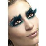 Aqua Dots Feathered Eyelashes