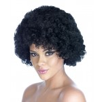 Male Black Pop Wig