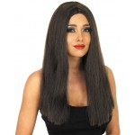 Brown Centre Parting Wig