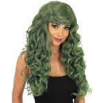 Green Temptress Wig