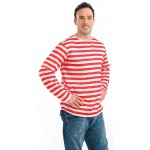 Red And White Stripe Jumper