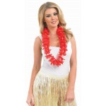 Red Hawaiian Garland