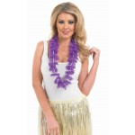Purple Hawaiian Garland