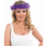 Purple Leis Headband