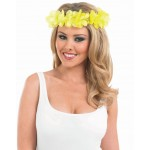 Yellow Leis Headband