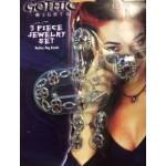 Gothic 3 Piece Jewellery Set
