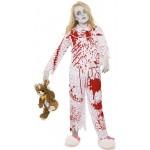 Zombie Pyjama Girl Halloween Costume