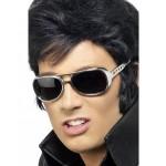 Silver Elvis Shades