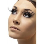 Eyelashes With Black Corner Feather Plumes